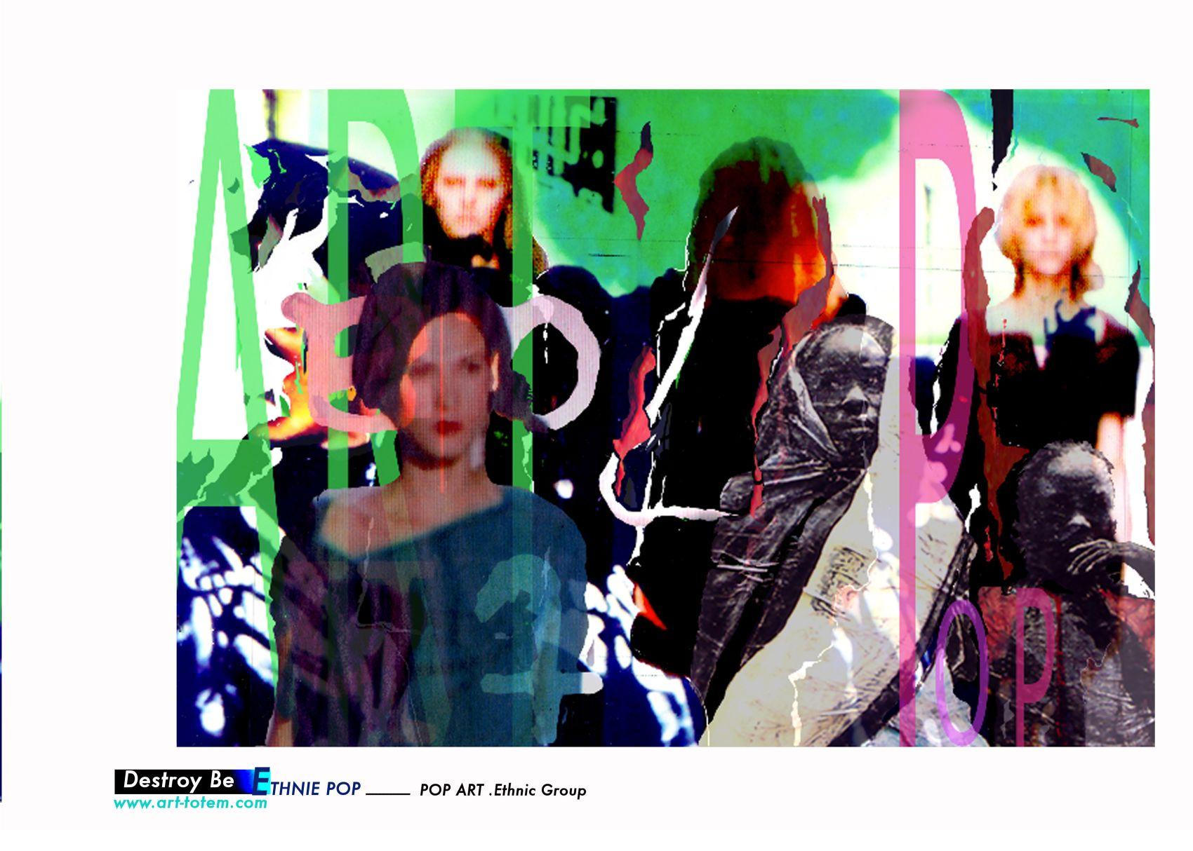 Assez Destroy Be - Pop Art OZ24